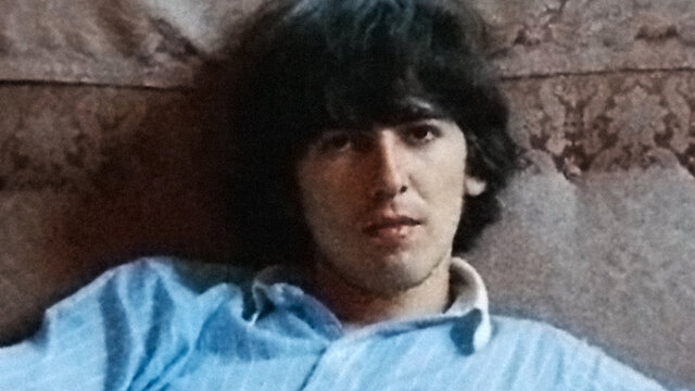 A cool George Harrison Living in a Material World